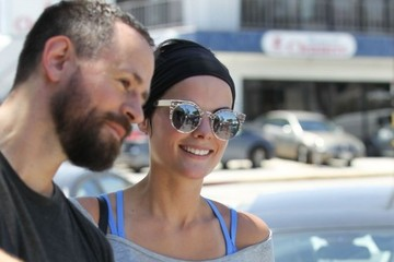 Jaimie Alexander Jaimie Alexander Leaves the Gym