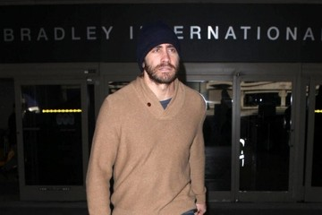 Jake Gyllenhaal Jake Gyllenhaal Arrives in LA