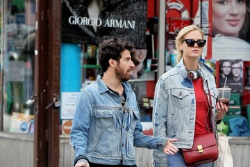 Jake Hoffman Riley Keough and Jake Hoffman Spend Time in NYC