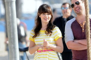 Jake Johnson 'New Girl' Films in LA