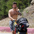 James Hesketh James Hesketh Takes A Shirtless Stroll With Emmett