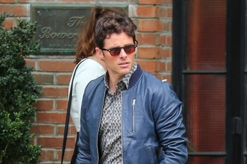 James Marsden James Marsden Leaving The Bowery Hotel