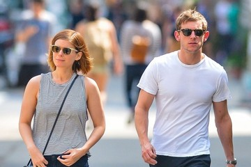 Jamie Bell Kate Mara and Jamie Bell Out for a Stroll in NYC