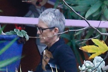 Jamie Lee Curtis Celebrities Attend The Debbie Reynolds & Carrie Fisher Memorial In Beverly Hills