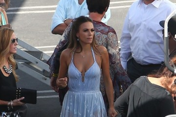 Jana Kramer Celebs Are Seen at the 'Dancing With the Stars' Set