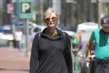Jane Lynch Jane Lynch Spotted Out Shopping in Beverly Hills