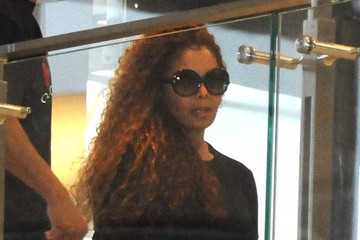 Janet Jackson Janet Jackson Takes a Flight Out of LAX