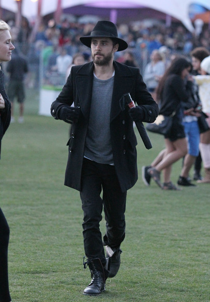 "Jared Leto - Celebs at the ""Coachella Music Festival"""
