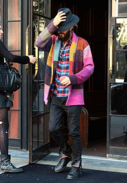 Jared Leto - Jared Leto Leaves His Hotel — Part 2