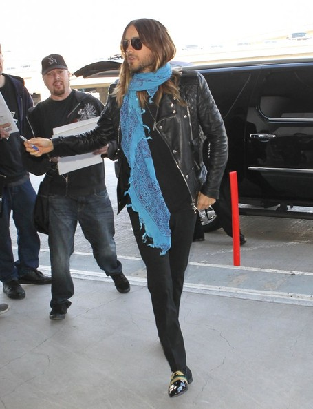 Jared Leto Leaves LA
