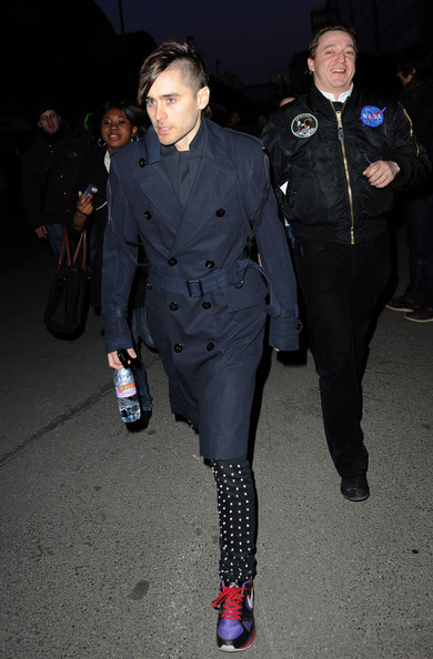Jared Leto - Paris Fashion Week Fall/Winter 2011 - Lanvin Show - Arrivals