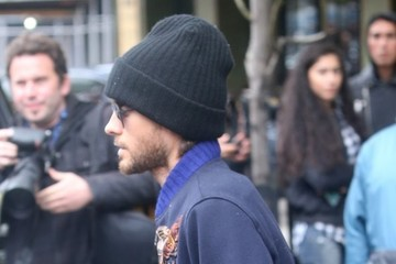 Jared Leto Jared Leto Goes Out in NYC