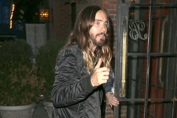 Jared Leto Jared Leto Returns to His Hotel