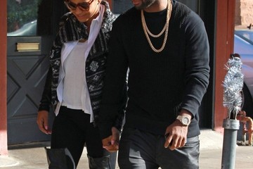 Jas Prince Christina Milian & Jas Prince Out For Lunch In Los Angeles