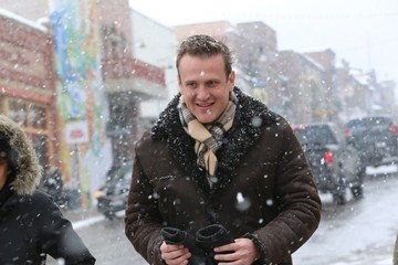 Jason Segel Celebrities Out And About At The 2017 Sundance Film Festival