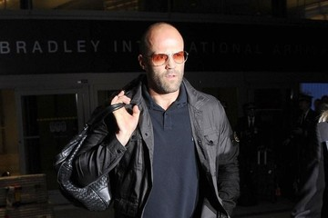 Jason Statham Jason Statham Lands At LAX Airport