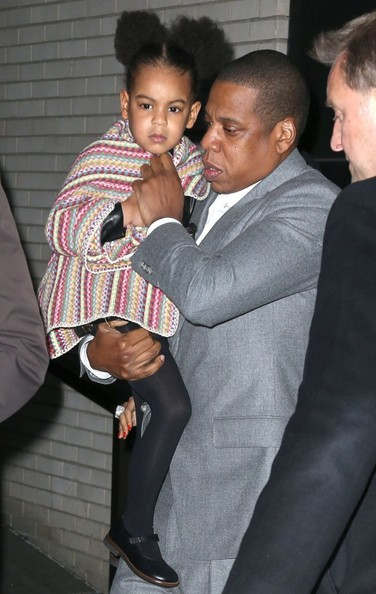 You tried Jay z blue ivy that interrupt