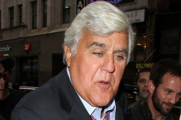 Jay Leno Celebrities Appear on the 'Today' Show in New York