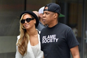 Jay-Z Beyonce Knowles Beyonce & Jay-Z On A Date Night In New York