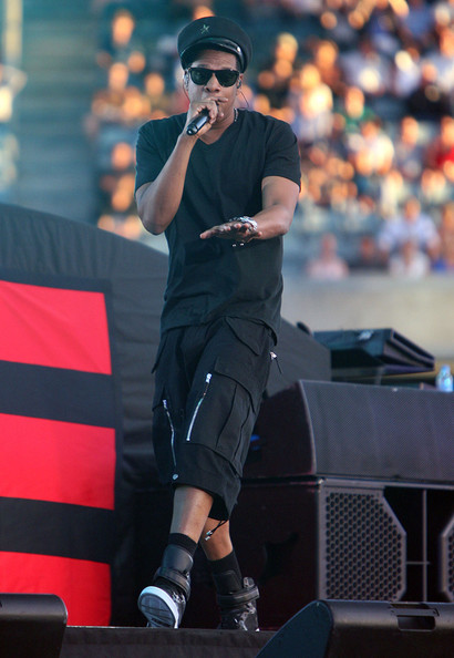 Jay-Z Performs in Perth