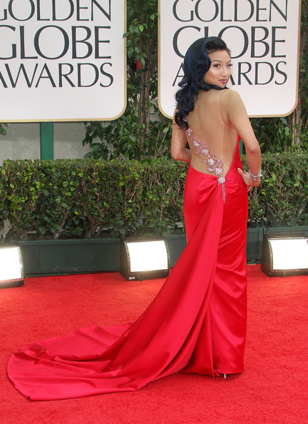 Jeannie Mai - 69th Annual Golden Globe Awards 2012: Red Carpet Part 2