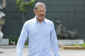 Jeff Goldblum Jeff Goldblum Out For Lunch In Brentwood