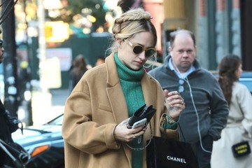 Jemima Kirke Actress Jemima Kirke Spotted in New York