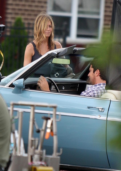 Jennifer Aniston Jennifer Aniston and Gerard Butler film
