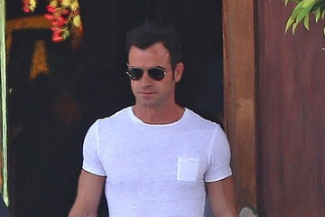 Jennifer Aniston Jennifer Aniston and Justin Theroux Out in LA