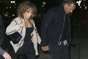 Jennifer Lopez And Alex Rodriguez Leave Cipriani In NYC