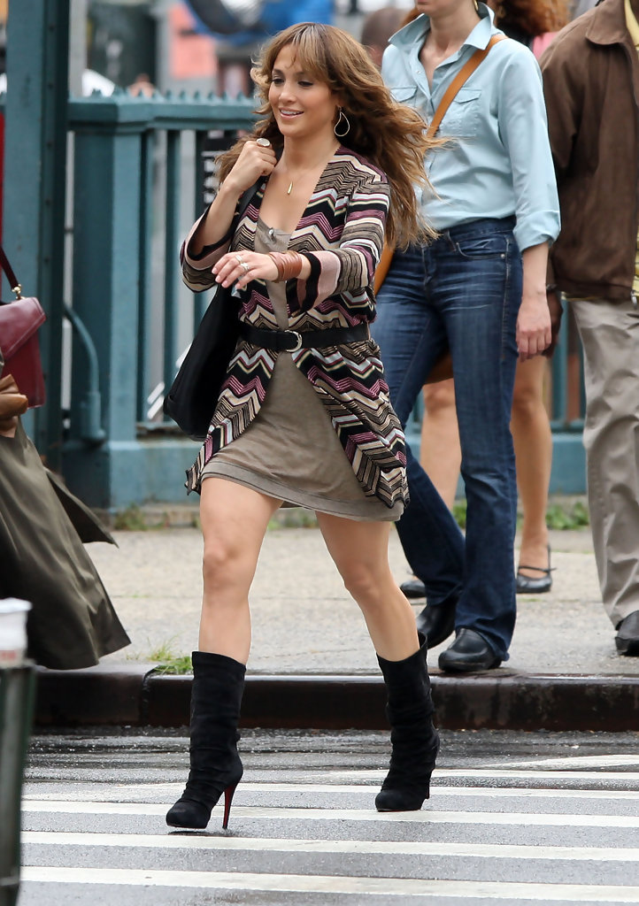 jennifer lopez in jennifer lopez on set of  u0026 39 the backup