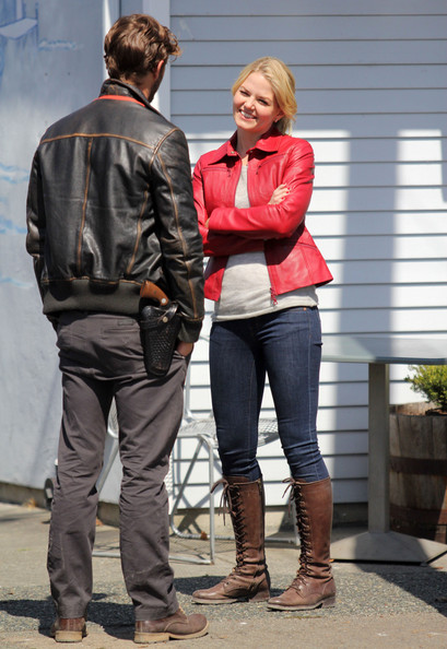Jennifer Morrison Jamie Dornan Photos Photos - 'Once Upon ...