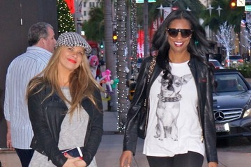 Jennifer Williams Mary Flaven Jennifer Williams & Mary Flaven Shopping In Beverly Hills