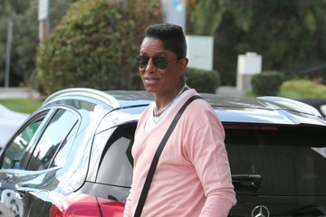 Jermaine Jackson Jermaine Jackson Pumps Gas in LA