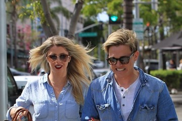 Jesse McCartney Gets Lunch In Beverly Hills