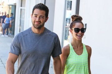 Jesse Metcalfe Jesse Metcalfe and Cara Santana Shop in Hollywood