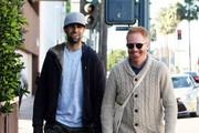 Jesse Tyler Ferguson and Justin Mikita in Beverly Hills
