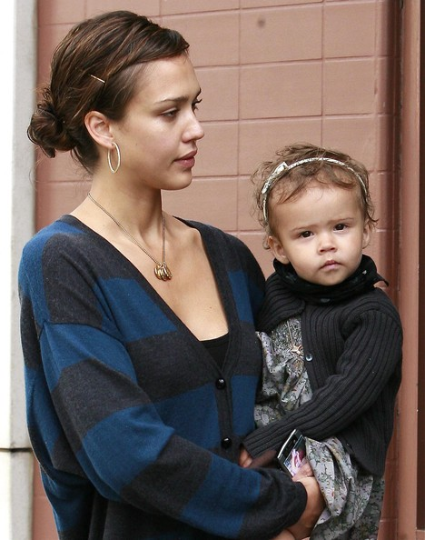 Jessica Alba And Daughter. Jessica Alba with hubby Cash