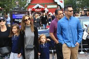 Actress Jessica Alba is seen out and about with her family at The Grove in Los Angeles, California on November 19, 2016.