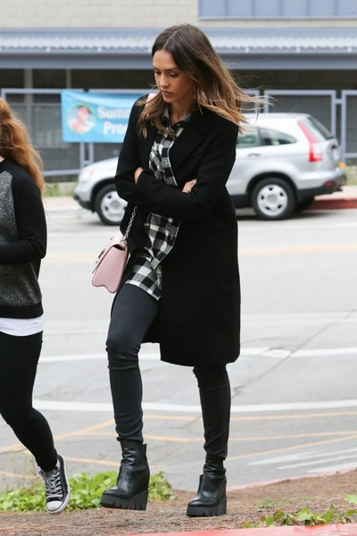 Jessica Alba Heads to an Event at UCLA