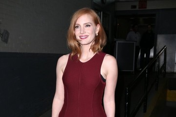 Jessica Chastain Jessica Chasten at AOL Build in NYC