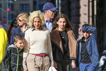 Jessica Seinfeld Jerry Seinfeld Takes His Family To See 'Hamilton' In NYC