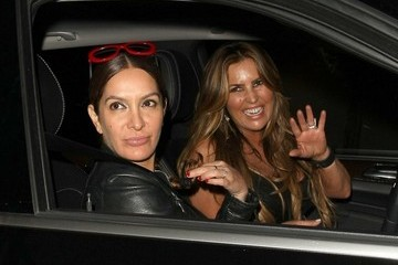 Jillian Barberie Celebrities Dine Out at Craig's Restaurant