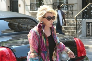 Joan Rivers Joan Rivers Steps Out in NYC
