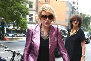 Joan Rivers Joan Rivers Spotted Out in NYC