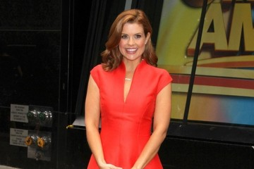 Joanna Garcia Celebrities Visit 'Good Morning America'