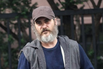 Joaquin Phoenix Joaquin Phoenix on the Set of 'We Were Never Really Here'