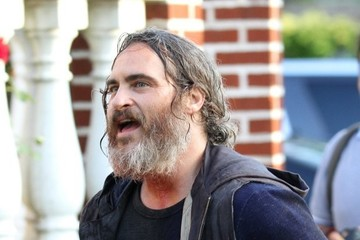Joaquin Phoenix Joaquin Phoenix Films for 'You Were Really Never Here' in NYC