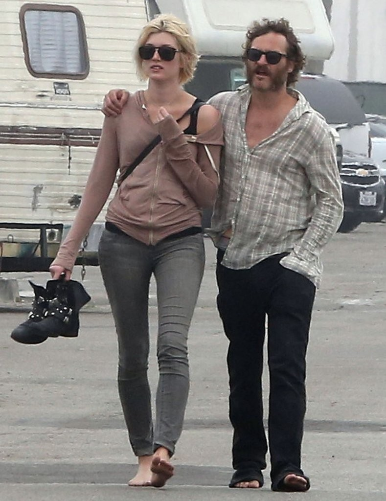 Joaquin Phoenix and Heather Christie Out For a Stroll - Zimbio