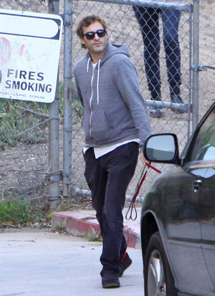 Joaquin Phoenix Out for a Hike with His Family  Joaquin Phoenix Joaquin Phoenix Family